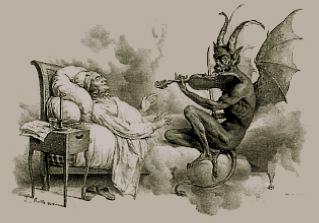 Diablo y violin
